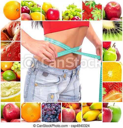 Fruit diet - csp4840324