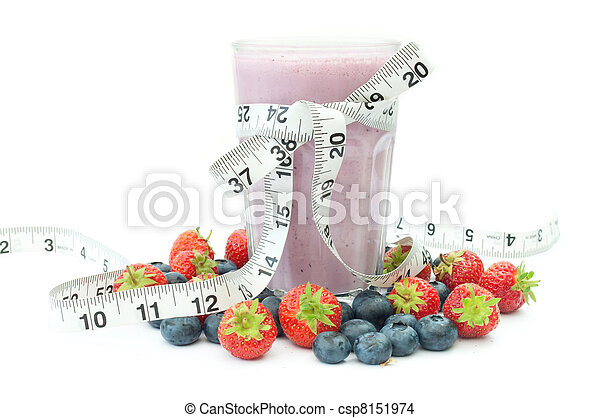Fruit juice diet  - csp8151974