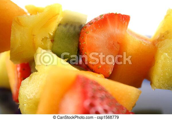 Fruit Kebabs 6 - csp1568779