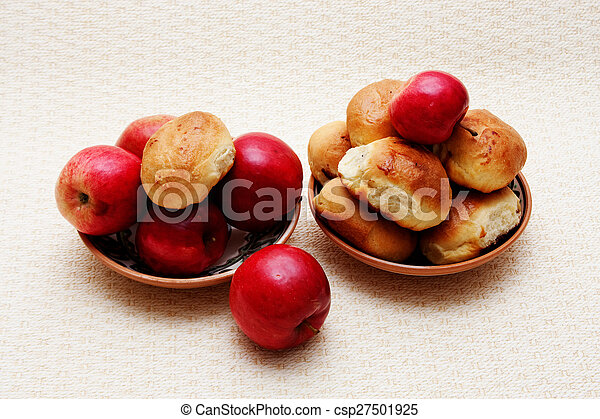 fruit on a plate - csp27501925