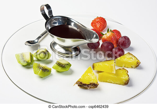 Fruit on a plate - csp6462439