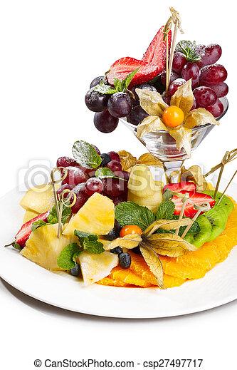 Fruit platter - csp27497717