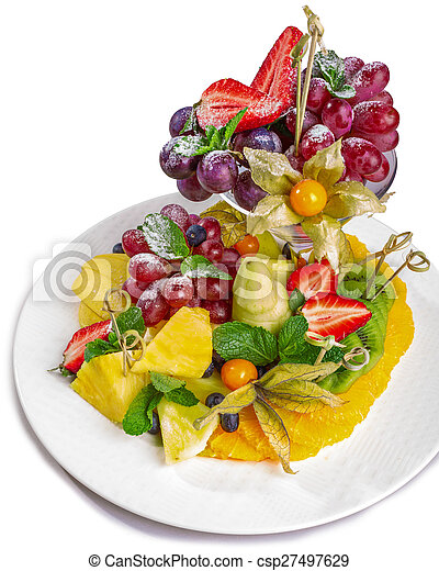Fruit platter - csp27497629