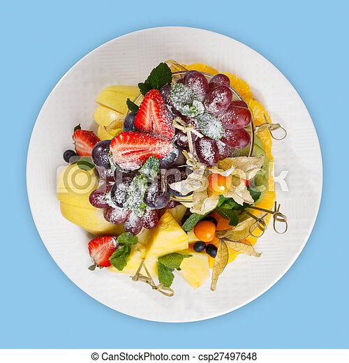 Fruit platter - csp27497648