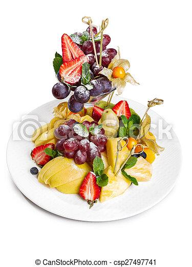 Fruit platter - csp27497741