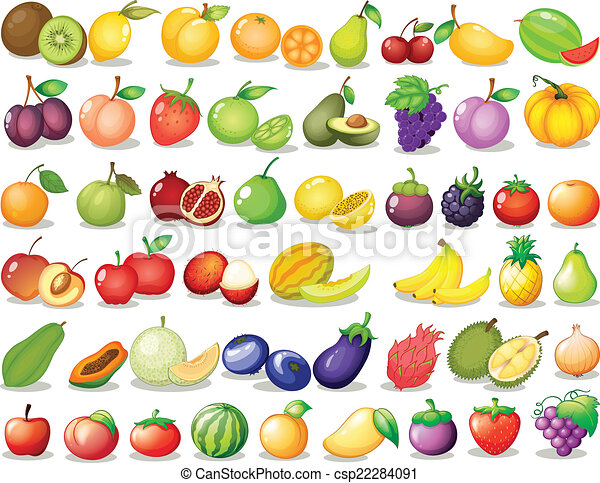 Fruit set - csp22284091