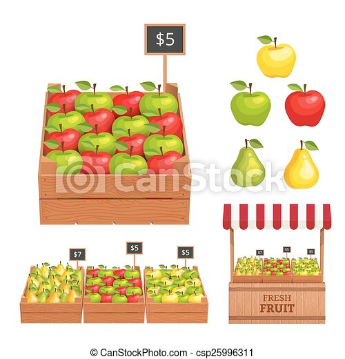 Fruit set - csp25996311