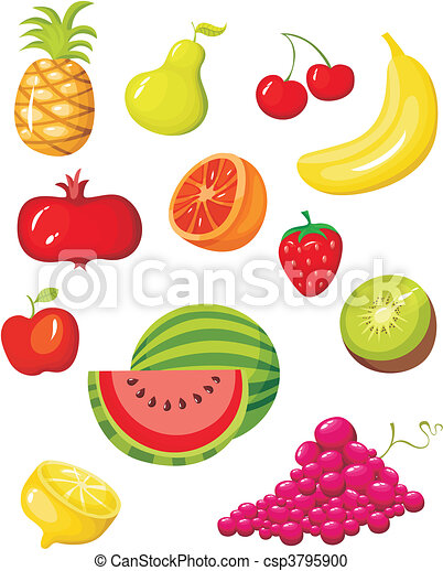 fruit set - csp3795900