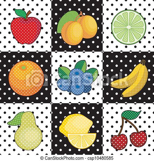 Fruit Tiles - csp10480585