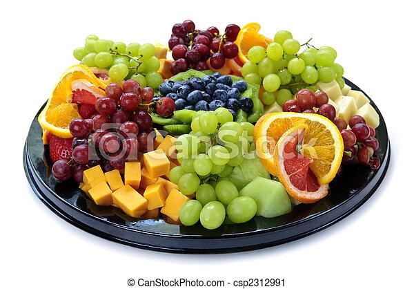 Fruit tray - csp2312991