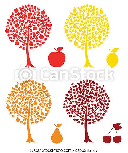 Fruit tree - csp6385187