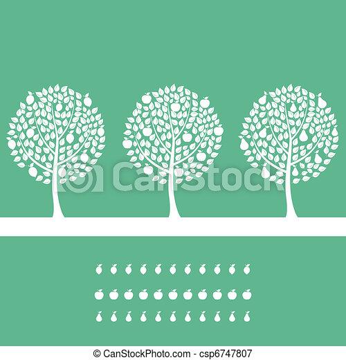 Fruit tree2 - csp6747807