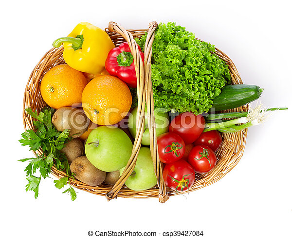 Fruits and vegetable - csp39427084