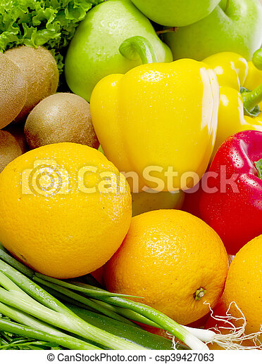Fruits and vegetable - csp39427063