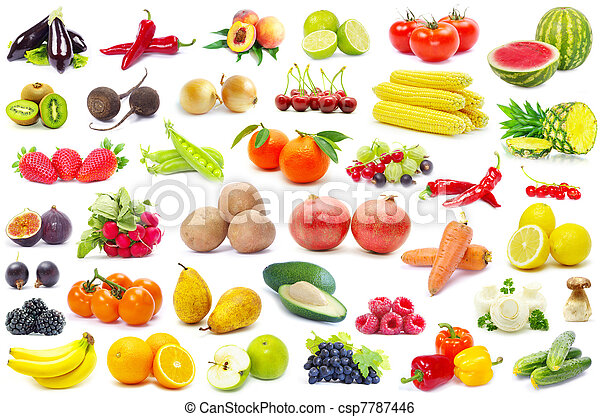 fruits and vegetable  - csp7787446