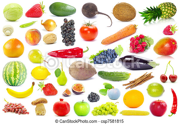fruits and vegetable  - csp7581815