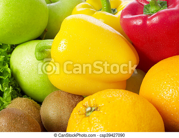 Fruits and vegetable - csp39427090