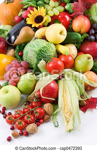 Fruits and vegetable - csp0472393