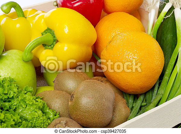 Fruits and vegetable - csp39427035