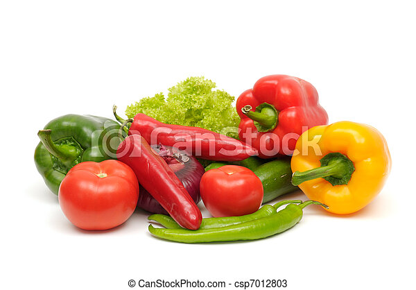 fruits and vegetable  - csp7012803
