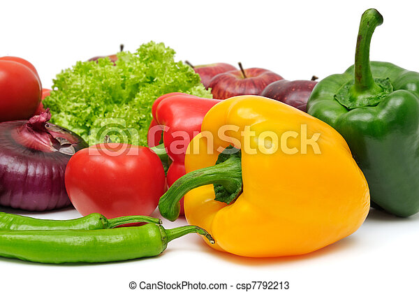fruits and vegetable - csp7792213