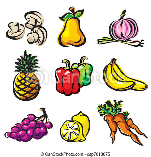 fruits and vegetables - csp7013075