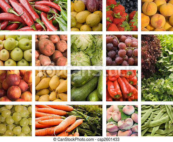 Fruits and vegetables - csp2601433