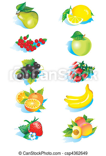 Fruits. - csp4362649