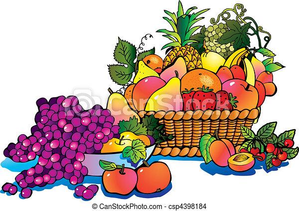 Frutas. - csp4398184