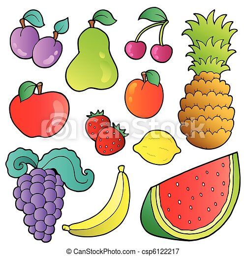 Fruits images collection - csp6122217