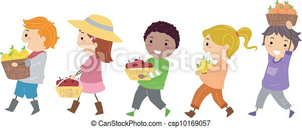 Fruits Kids - csp10169057