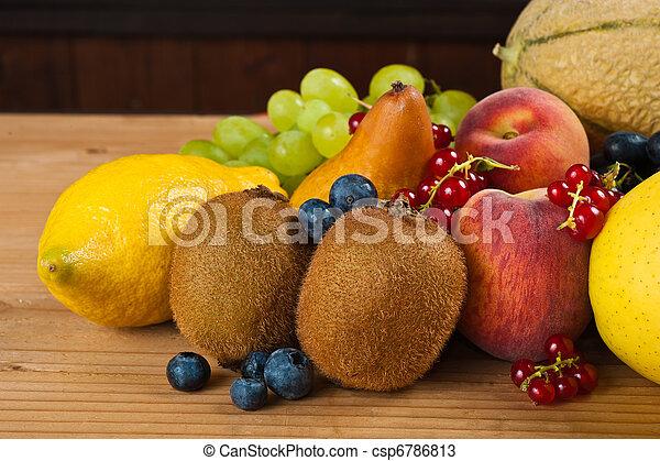 Fruits mix - csp6786813