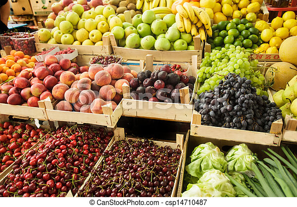 Fruits on the market - csp14710487