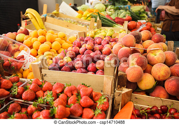 Fruits on the market - csp14710488