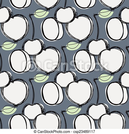 Fruits seamless pattern for your design - csp23489117