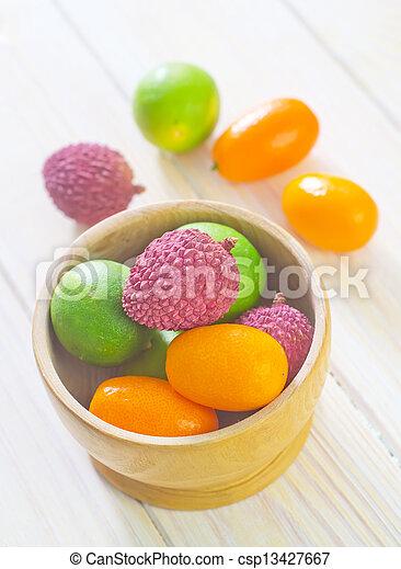 Fruits - csp13427667