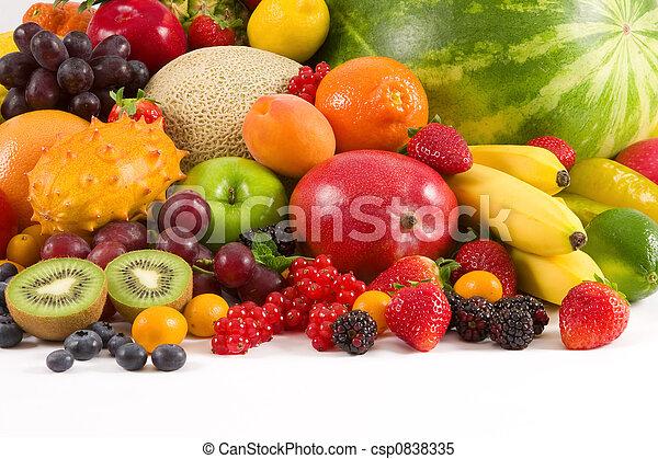 Fruits - csp0838335