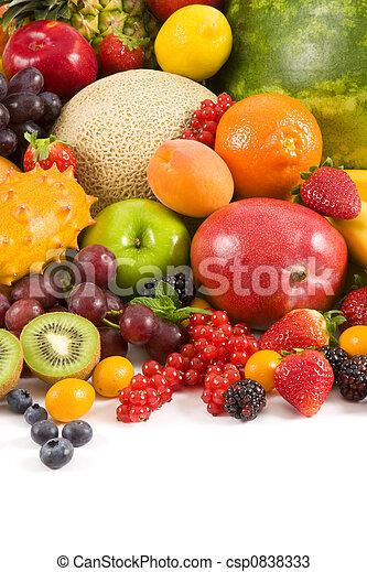 Fruits - csp0838333