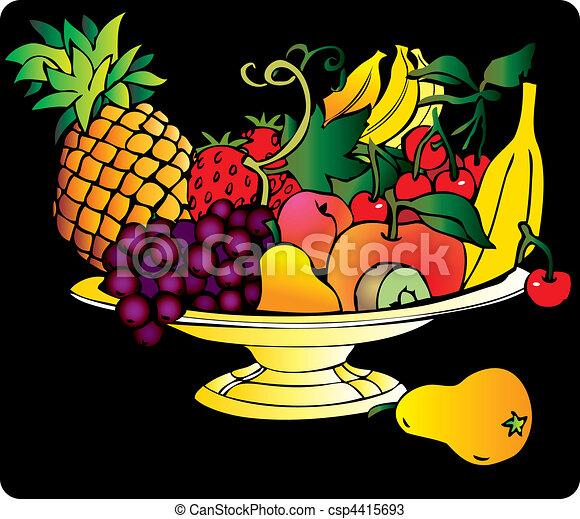Frutas. - csp4415693