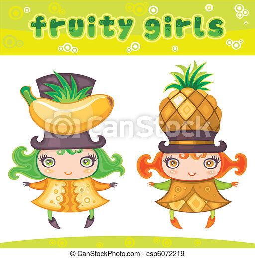 Fruity girls series 6 - csp6072219