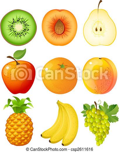 frukt - csp2611616