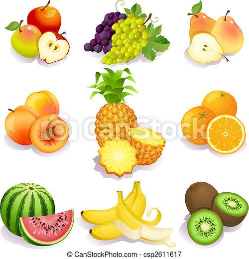 frukter - csp2611617