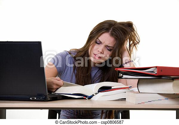 Semental universitario frustrado - csp0806587