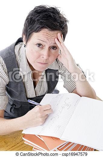 Profesor frustrado - csp16947579
