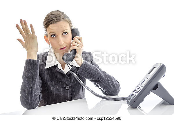 woman phone call