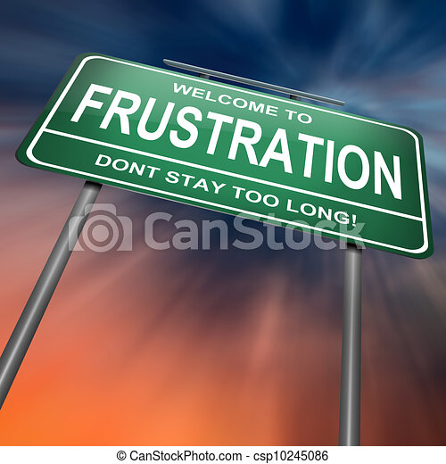 Frustration concept. - csp10245086