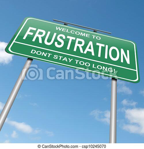 Frustration concept. - csp10245070