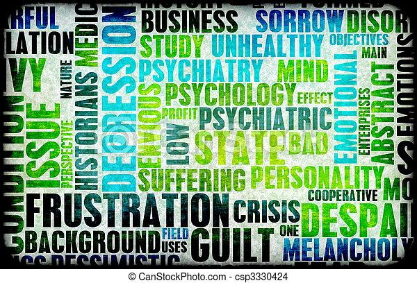 Frustration - csp3330424