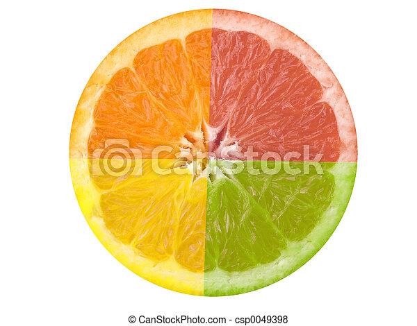 fruta cítrica - csp0049398