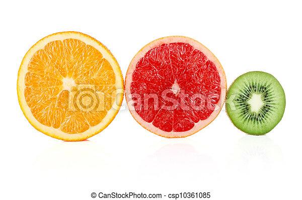 Fruta cortada - csp10361085